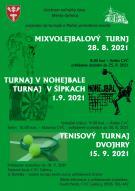 Turnaj v nohejbale a turnaj v šípkach  1